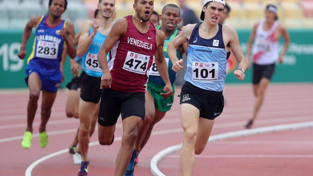 running campeonato sudamericano
